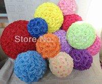 Wholesale Supermarket Supplies - Festive Party Supplies Decorative Flowers Wreaths 15CM artificial supermarket decoration flower ball artificial flower ball