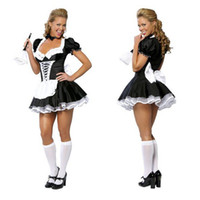 Hot selling Free shipping!! Late Nite Maid Sexy Halloween Costumes Party costume Women Cosplay Dress Wholesale Retail 2407