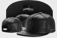 Wholesale Nets Sport Hats - 2016 new brand mens womens snapbacks baseball caps black net leather and lock fashion sport hip hop street sun hats good quality cheap
