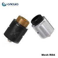 Wholesale Glass Mesh - Vandyvape Mesh RDA Tank Compatible with Mesh Wire & Standard Coil Invisible Clamp Style Postless Deck Atomizer Original 24mm rda vape