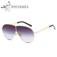 ef9b518c95 High Quality Classic Polarized Mens Sunglasses Oversize Mirror Sun Glasses  Women Brand Designer Retro Sun Glasses With Box And Cases