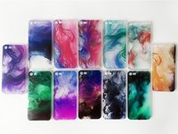 Caso de telefone de originalidade para Apple iPhone5 i6 i7 TPU Case Graffiti Coque Painting Pattern Art Oil Back Cover