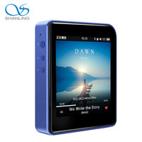 Wholesale Free Music Movement - Wholesale- New Shanling M1 DAP HIFI MP3 Music Player With Bluetooth Features Mini Movement MP3 Music Player Free Shipping