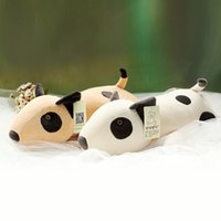 Wholesale Dog Toy Pillow - 50cm 70cm bull terrier plush toy dog baby cuddle dog software down cotton pillow doll birthday gift