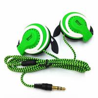 Wholesale fitness hooks - New Shini Q141 Headphone Stereo Earphone Sport Fitness Headset 3.5mm In-ear Headphones For Mobile Phone MP3 MP4 Player