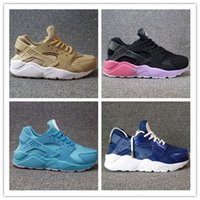 Wholesale Id 46 - 2017 Hot Sale cheap Airs Huaraches iD Ultra Run Sports Shoes Men Women Huaraches Customise Running Shoes Trainer Sneakers Size 36-46