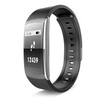 i6 smart wristband оптовых-Оригинал iwown I6 PRO смарт-браслет монитор сердечного ритма IP67 смарт браслет Фитнес-трекер для Andriod 4.4 IWOWNFIT I6 PRO