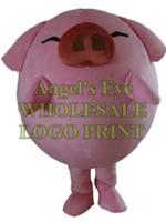 disfraz de cerdo personalizado al por mayor-McDull pig mascot costume green hormiga personaje de dibujos animados personalizado traje de carnaval 3223