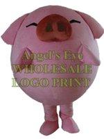 benutzerdefinierte schwein kostüm großhandel-McDull Schwein Maskottchen Kostüm grün Ameise benutzerdefinierte Zeichentrickfigur Karneval Kostüm 3223