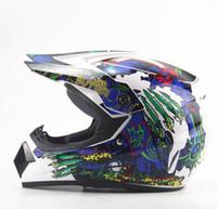 Wholesale Vintage Racing Bike - Wholesale DOT Vintage Motorcycle Helmets motorcycle Adult Motocross Off Road Helmet ATV Dirt Bike Downhill MTB DH Racing Helmet Cross Helmet