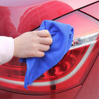 Wholesale Car Dry Cloth - Wholesale- car styling For washing windows microfiber Towel 30*30cm Car wash Soft Towels Dry Clean Polish Cloth DEC 16
