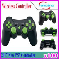 Wholesale Wireless Pc Station - Wireless Bluetooth Gamepad For PS3 Controller Playstation 3 dualshock game Joystick play station 3 console PS3 100 pcs YX-PS3-13