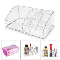 Wholesale Modern Cell - 9 Cells Acrylic Cosmetic Storage Box Holder 17.5*9.5*6.2CM Makeup Organizer