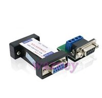 Wholesale Rs485 Data Cable - RS232 to RS485 Passive Interface Converter Adapter Data Communication *100pcs lot