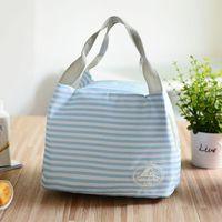 ingrosso tipi borse per ragazze-7 Tipo Dot Lunch Bag Borse per alimenti riutilizzabili da picnic per donna Ragazza Lady Addensare freddo Thermo Bag frigorifero bolsa termica