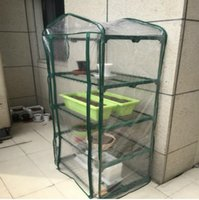 Wholesale House Assembled - Mini Greenhouse High Quality Household Botany Conservatory Portable Gardening Best Multi Function Flower Plants Yard Hot House Best 81cl J R
