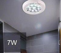 Wholesale Elegant Light Switch - 2017 Elegant 36LED 7W Motion Sensor Bulb Ceiling Lamp Pendant Lighting White Light Pendant Lamps 220V free shipping MYY