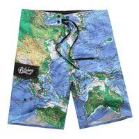 Wholesale big tall men - Wholesale- High Quality Bermuda Shorts Mens Masculina Board Shorts Summer Big And Tall Short Pants Beach Wear Quick Dry Silver