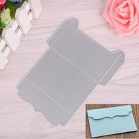 Wholesale Craft Cards Envelopes - Envelope DIY Metal Cutting Dies Stencil Scrapbook Card Album Paper Embossing Craft