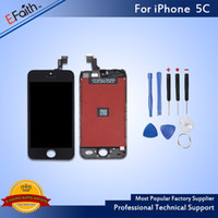 Wholesale complete tools for sale - LCD Display Touch Screen Digitizer Full Assembly For iPhone C Complete Screen Replacement with Tools