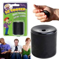 Wholesale Handheld Color - Le Tooter Realistic Farting Sounds Fart Pooter Machine Tricky Joke Prank Gadget Handheld Party Novelty Funny Toys (Color: Black)