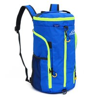 Wholesale Camping Foldable Buckets - Free Knight 20-35L Multifunctional Waterproof Nylon Foldable Shoulder Bag Bucket Bag Travel sport Fitness Bag Climbing Backpack