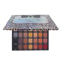 Wholesale Free Eyeshadow Samples - Leopard Violet Voss pro ride and die eyeshadow Pallete 42 colors Big collectio shadow DHL Free Sample