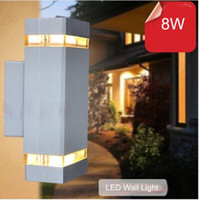 Wholesale 10pcs outdoor wall lamp sconces porch light w modern led wall lamp light exterior waterproof up and down side AC85 V