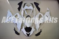 Wholesale Zx6r 636 Paint - Injection Fairings For Kawasaki Ninja 636 ZX-6R ZX6R 13 14 15 2013 2014 2015 ABS Motorcycle Fairing Kit Body Kits no paint New