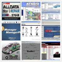 Wholesale Alldata repair software alldata v10 and mitchell ondemend manager heavy truck vivid workshop data in TB HDD car repair