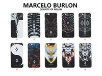 Wholesale Iphone5 Hard Case Back Cover - fashion clothes brand marcelo style phone case for iphone5 6 7 hot sale hard back cover