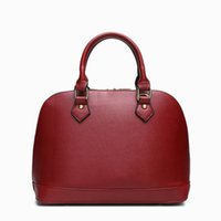 Wholesale Tiding Leather Bags - Genuine Leather designer handbags for women fashion women brand handbags new tide shell handbags purses bags female free shipping
