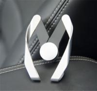 форма автомобиля iphone оптовых-Универсальный M-образный держатель для мобильного телефона. Регулируемая модель M Air Air Vent. Держатель для телефона. Держатель для iphone 6s 7 8 plus Samsung s7 s8