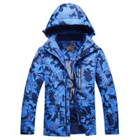 Wholesale Cheap Men S Winter Clothes - Wholesale- MENs Cheap Camouflage Snow Jackets skiing Jacket Outdoor Skiing snowboard 1000mm waterproof & windproof winter Warm -30 clothes