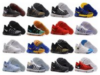 Wholesale Bird Cushions - KD 10 X Oreo Bird of Para Basketball Shoes for High quality Kevin Durant Bounce Airs Cushion Sports Baby, Kids Size 7-12