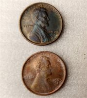 Wholesale Copper Antique Craft - Lincoln Cents 1909S One Cents Coins Retail Archaize Old Looking US Coins Copper Crafts Coins\Whole Sale Free Shipping
