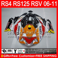 Wholesale fairing rsv for sale - Group buy Body For Aprilia RS4 RSV125 RS125 RS125R RS HM19 Repsol orange RSV RS Fairing