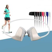 Wholesale Mp3 Player 2gb Memory - Wholesale- NEW Memory 2G Sport MP3 Player Wireless Headset Anti-sweat Running Cycling Hiking Portable Media Music Player Freeshipping