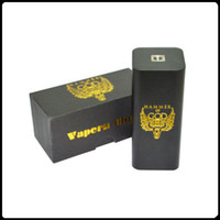 Wholesale Oem E Cigarettes - Hammer of God V3 Box Mod 18650 Battery E-cigarette Mods OEM LOGO