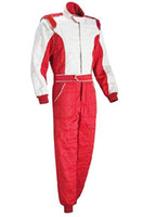 Wholesale Waterproof Suit Motorcycle - Wholesale- 2016new arrivel motorcycle car racing suit coveralls clothing and a gift cap free shipping