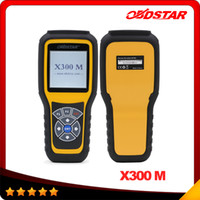 Wholesale Diagnose Obd - OBDSTAR X300M OBDII Odometer Correction X300 M Mileage Adjust Diagnose Tool (All Cars Can Be Adjusted Via Obd) Update By TF Card DHL free