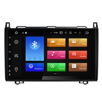 """Wholesale Built Mercedes Benz - 9"""" Octa-core Android 6.0.1 System Radio Car DVD For BENZ A B Class W169 W245 Vito Viano VW Crafter LT3 B200 W318 WIFI 4G 2G RAM OBD DVR USB"""