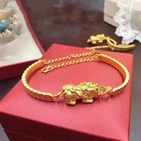 Wholesale Pure Gold Necklace Chain - Pure 999 24K Yellow Gold Necklace 3D Lucky Coin Chain Bangle Bracelet   6g
