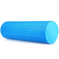 Wholesale Wholesale Pilates Roller - Wholesale-High Quality 3.93 inches EVA Yoga Pilates Fitness Foam Roller Physio Blocks Exercise Massage Gym Cure Trigger Point