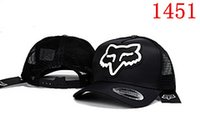 Wholesale Blue Sky Fox - 2017 hot selling fox cap Ball Caps Cool Baseball Cap Hip Hop Snapback Adjustable Snapbacks Summer Sun Hat Wholesale retail
