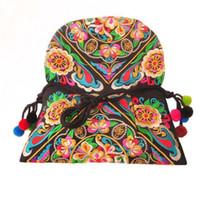 Wholesale Wholesale Thai Handmade - Wholesale- Hmong Clutch Bag Hill Tribe Handmade Bag Thai Handbag Ethnic Crossbody Bags