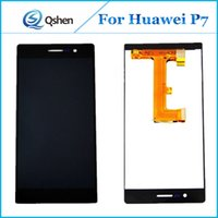 Wholesale Digitizer Ascend - High Quality Lcd for Huawei Ascend P7 Display Touch Screen Digitizer With Assembly AAA Grade Replacement