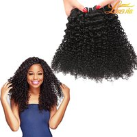 New Arrival! Unprocessed Indian Virgin Human Hair Grade 8A Indian Kinky Curly Hair Weaves Couleur naturelle Prix de gros Indian Remy Hair