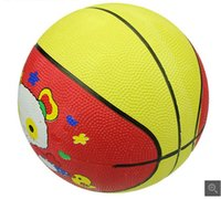 Wholesale Children S Sport Toys Wholesale - New children 's basketball basketball 3 basketball cartoon patterns mixed school kindergarten sports toys explosion models