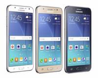 Wholesale dual sim snapdragon - Original Unlocked Samsung Galaxy J5 Quad Core Dual Sim Cards 13.0MP 16GB ROM+1.5GB RAM 4G LTE Snapdragon 410 Smartphone